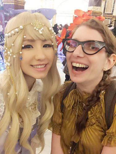 Ayumi and I