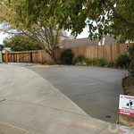 Large Driveway Extension And Side Yard Concrete In Vacaville