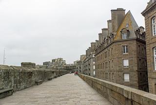 Buildings Inside Ramparts - Saint-Malo