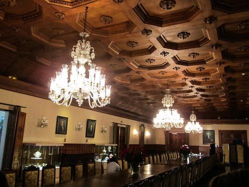 Quito: el Palacio del Gobierno et sa salle à manger