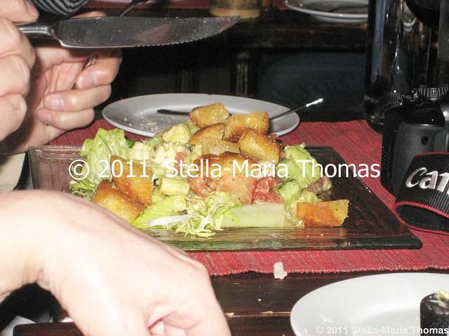 LA BONNE HEURE - GOAT'S CHEESE SALAD 012