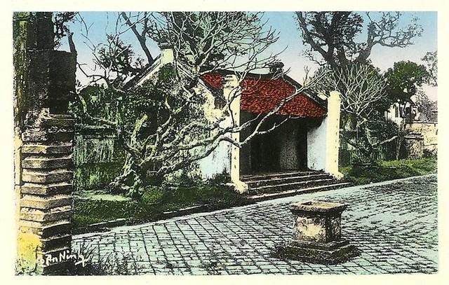 Hanoï - La pagode des Corbeaux en 1950