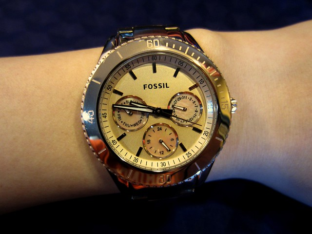fossil watch 001