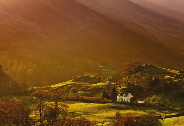 Autumn Light in Little Langdale (Explored)