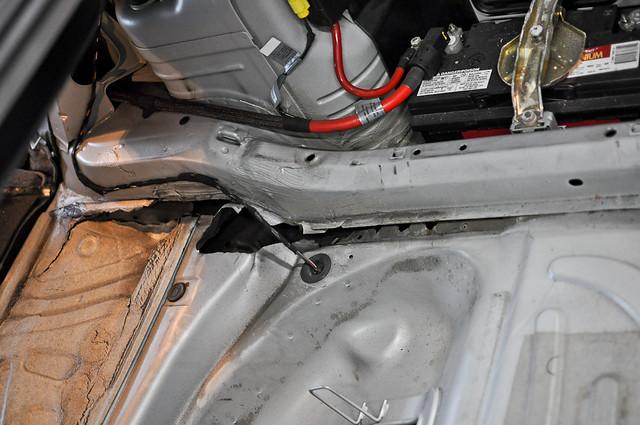 how to repair end of floor