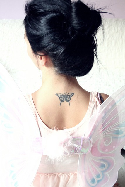 Butterfly tattoo for a Fairy