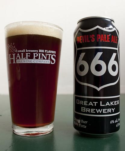 Review: Greak Lakes' Devil's Pale Ale 666 by Cody La Bière