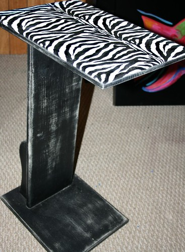 TV Stand / Accent Table by Rick Cheadle Art and Designs