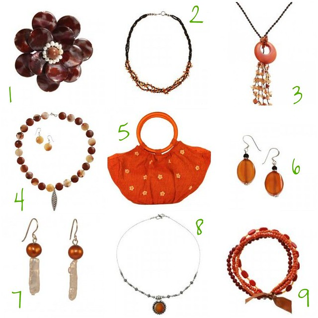 Merry & Bright: Orange Jewelry