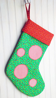 Dottie Stocking by Pattern Patti
