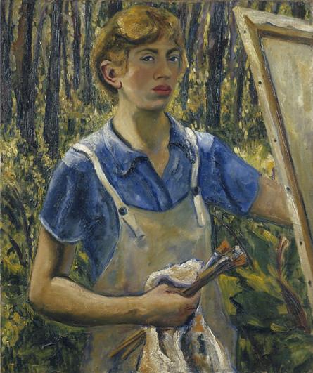 Lee Krasner Self-Portrait
