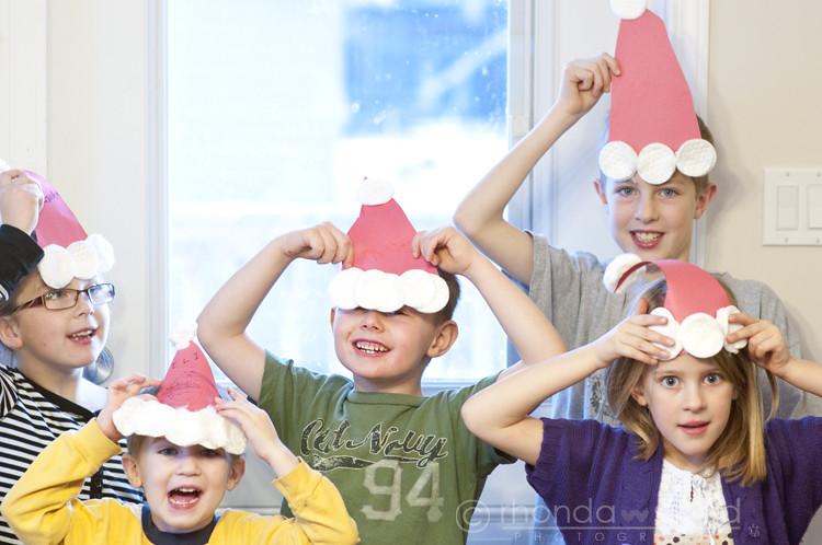 Dec 1 - Santa Hats