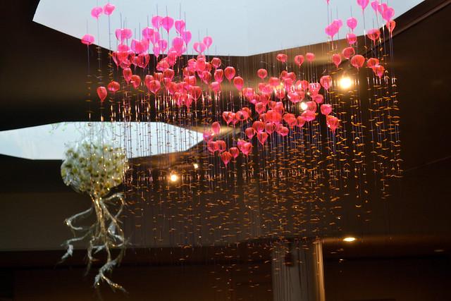 Art installation by Jae Hi Ahn, in BBG's Steinhardt conservatory. Photo by Elizabeth Peters.
