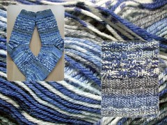 selbstgestrickte Socken Nummer 01/2012