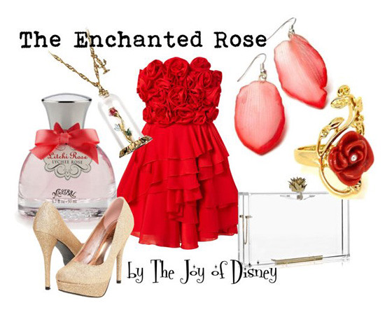 Inspired by: The Enchanted Rose -- Beauty and the Beast