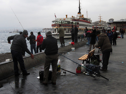 Fishing the Mouth of the Bosphorus