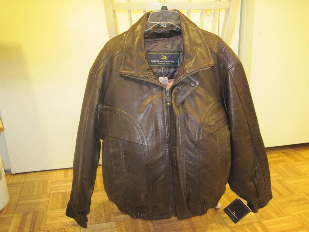 Repairing leather jacket