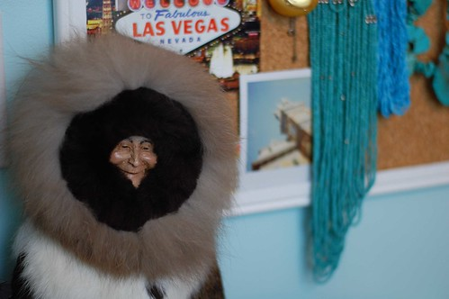 Furry Eskimo Doll