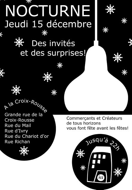 Flyer Nocturne X Rousse dec 2011