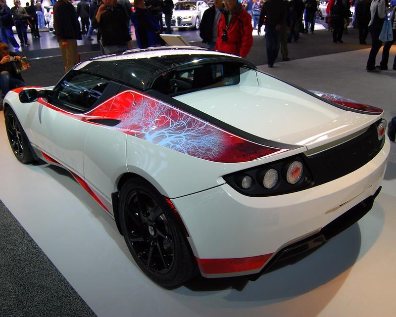 North American International Auto Show, Tesla