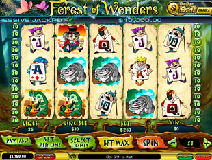 Forest of Wonders slot game online review