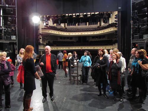 Backstage visit at Estonia opera theatre