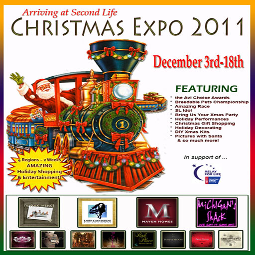 Xmas Expo sign for Avenue blog
