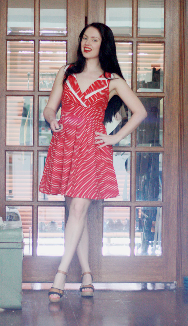modcloth dress a