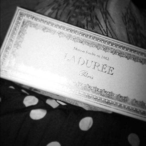 my week with marilyn with ladurée.