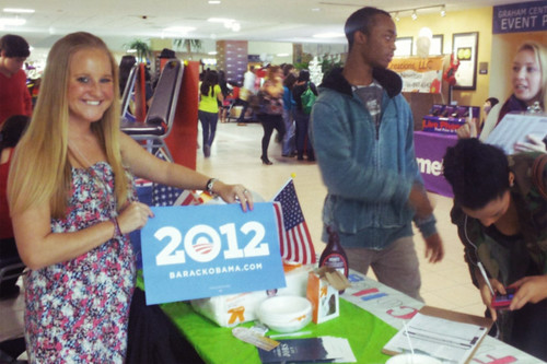 Voter registration at Florida International University