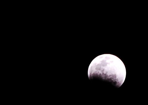 月食 @南大沢