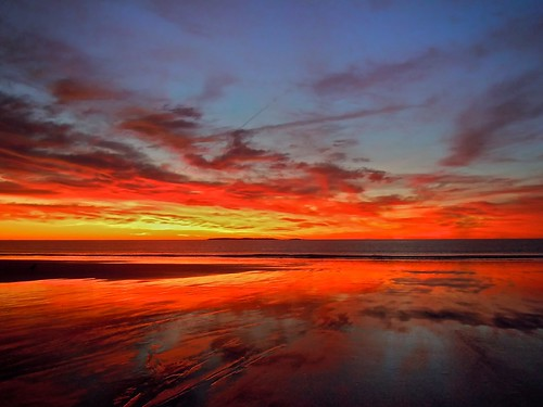 sky beach sunrise maine large saturday oldorchardbeach 1011 cliché