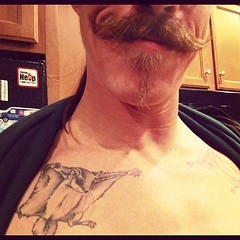 145: doug's stache and squirrels.