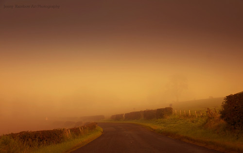 What is Laying Ahead? Misty Roads of Scotland