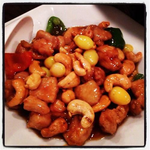 鶏肉とカシューナッツ炒め。