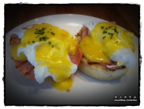 Eggs Benedict - Plan B @ Bangsar Village 1