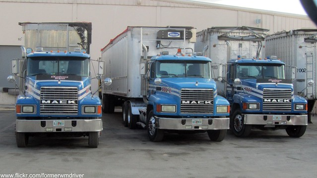 Republic Services - Mack CH Transfer Trucks 6003, 6002, 6001