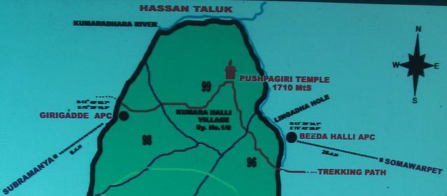 Kumara_Parvatha_Trek_Route