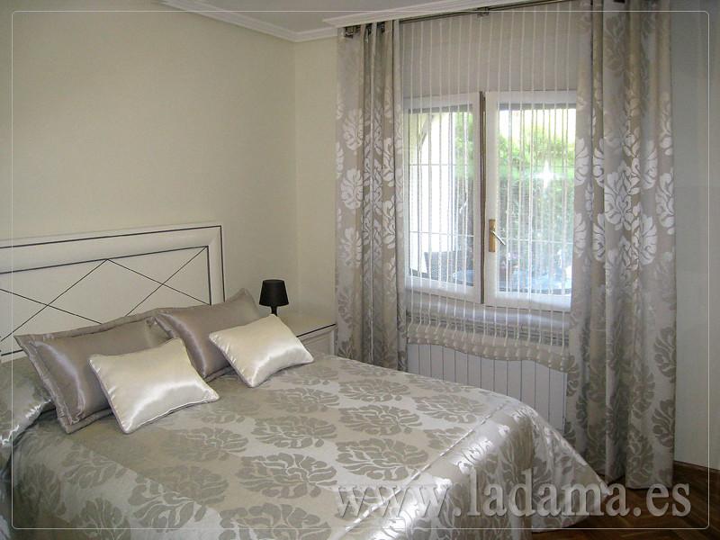 decoracin para dormitorios clsicos cortinas con dobles cortinas y bandos tapiceras colchas y