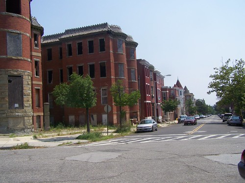 Vacant properties, Reservoir Hill neighborhood, Baltimore