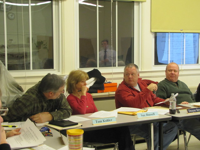 Westport School Board contemplates the difficulties of the NYS tax cap law
