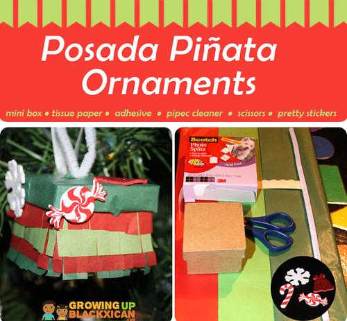 posada pinata ornaments