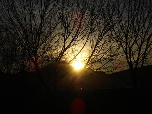 sun mountain sunrise germany 2011