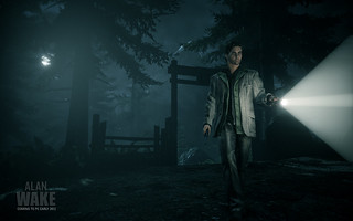 First Alan Wake PC Screen