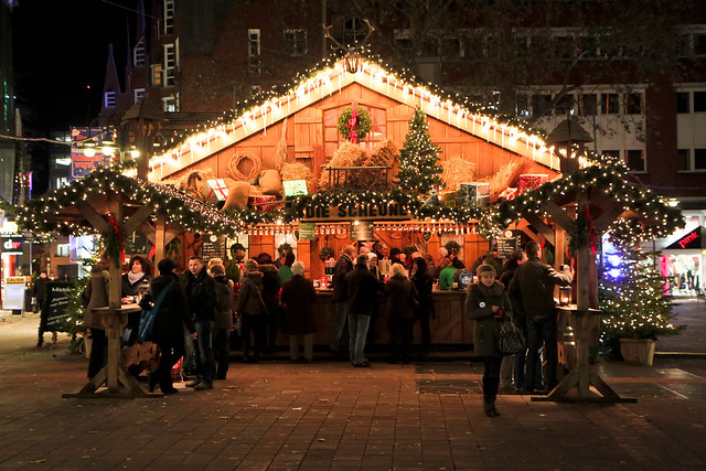 Bremen. Christmas market