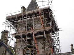 Church Tower Scaffold