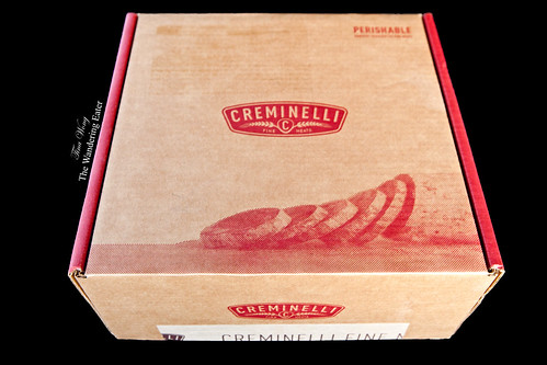 My shipment of Creminelli salumi