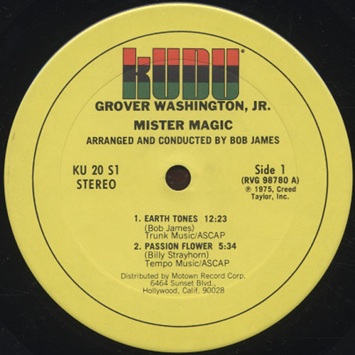 Mister Magic label