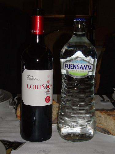 Burgos | Los Braseros | Vino y agua
