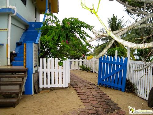 2 bedroom beach front apartment belize